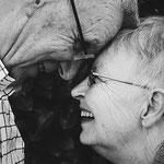 älter Mann und ältere Frau - Lebenslust