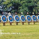 BSV Merkwitz 1997 als Ausrichter der 4. DM Bögen ohne Visier in Merkwitz 2007