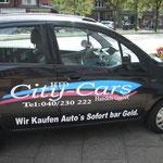 Kfz-Beschriftung für Firmenwagen