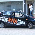 Fahrzeugbeschriftung Lieferdienst