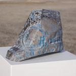 Kreise I   2014   Kalkstein/Pigmente/Acryl