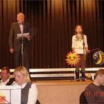 Jürgen Meier und Jana Kempe singen Martinslieder
