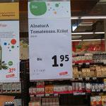 """Die """"Tomatensau"""" entdeckt bei Teegut"""