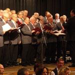 Liedertafel Homberg unter der Leitung von Erwin Haas