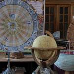 Himmelsglobus und Kopernikanisches Weltbild (Foto: A.Rachui)
