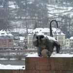 Die malerische Heidelberger Altstadt zur Adventszeit