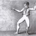 L'Escrimeur, 1808 - L. LUSSIGNY
