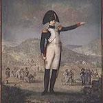 Officier supérieur décoré de la légion d'honneur, debout dans un paysage. Paris, Musée du Louvre, D.A.G. - E. LUSSIGNY