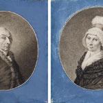 Portrait d'une femme vue de profil vers la gauche et portant une coiffe -L. LUSSIGNY