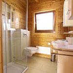 Gästehaus Ludwig | Badezimmer mit Dusche und WC