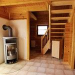 Gästehaus Ludwig | Der Kaminofen spendet gemütliche Wärme (Holz ist am Haus vorhanden)