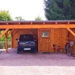 Gästehaus Ludwig | Das geräumige Carport bietet ausreichend Platz