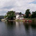 Bootsanleger in Saalburg
