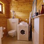 Gästehaus Ludwig | Separates WC mit Waschmaschine