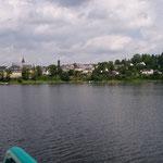 Saalburg - Ansicht von der Bleiloch Talsperre