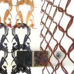 kakemono souple, hauteur modulaire | création Atalanta Panc