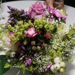 Hochzeitsdekoration / Tischdekoration