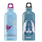 Flaschendesign für SIGG Switzerland Illustration von Nina Rode