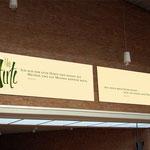 Kalligrafische Bilder für die Lobetalarbeit e.V. Celle · Gestaltung: Hans Zierenberg
