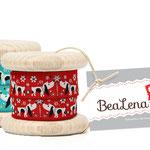 Gestaltung von Web- & Geschenkbändern für Bealena von Nina Rode
