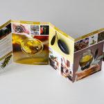 "StockFood Leporello ""Olivenöl""· Gestaltung: Hans Zierenberg"