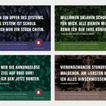 Plakatkampagne für einen fiktiven Insektenzoo · Gestaltung: Hans Zierenberg