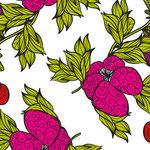 Flowers Pattern von Nina Rode