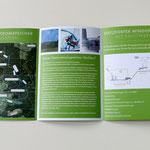 Klappfolder für die Naturstromspeicher Gaildorf GmbH & Co. KG · Gestaltung: Hans Zierenberg · Illustration: Nina Rode