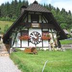 Größte Kuckucksuhr in Schonach