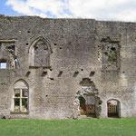 Château de Villandraut, corps de logis est