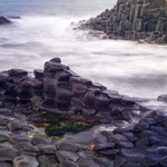 Giant's Causeway Nord Irland ( seit 1986 UNESCO-Weltkulturerbestätte).