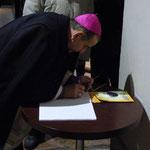 Mons. Mario Delpini ci lascia poche parole ma molto significative