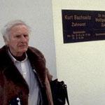Parapsychologe Prof. Dr. Hans Bender im Einsatz als bayrischer Ghostbuster in Neutraubling.
