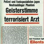 Medienbeherrschendes Thema: Die Geisterstimme aus dem Spuckbecken.