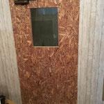入口造作ドア 内側
