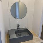 美容室 手洗いカウンター造作(サンワカンパニー)