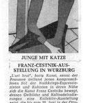 Volksfreunde Würzburg ( SPD ) Zeitung