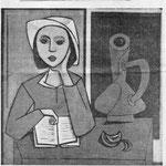 Hannoversche Zeitung 1955  (Gekauft von der Stadt Hannover )