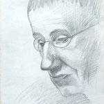 Bertolt Brecht  1966  30 x 40