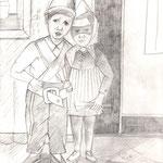 Geschwister Franz-Josef und Rainer  ( Söhne von Franz Cestnik )