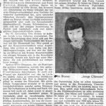 Weserkurier ( Bremen ) 7.4.1956