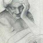 Studie Tante Minna  1947  31 x 46