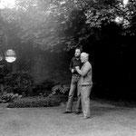 Adolf Luther und Ralph Herrmann, 1977
