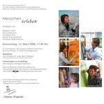 Plakat, Ausstellung Kunstweg Knappschaft