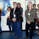 Ausstellungseröffnung bei Evonik, Chemiepark, Hüls