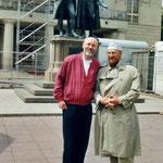 Ernst Fuchs und Ralph Herrmann in Weimar