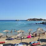 Spiaggia di Mikri Amoopi, isola di Karpathos