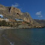 Spiaggia di Finiki, isola di Karpathos