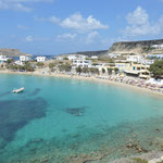 Spiaggia di Lefkos, isola di Karpathos