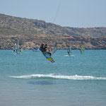 Kite surfer, isola di Rodi